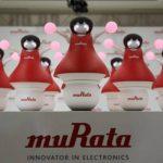 Varios robots 'animadoras' desarrolladas por Murata Manufacturing Co., presentadas en la sede de la compañía en Tokio (Japón).