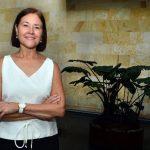 María Eugenia Brizuela tiene su oficina en la capital mexicana y viaja constantemente por América Latina. Foto Expansión/René Quintanilla.