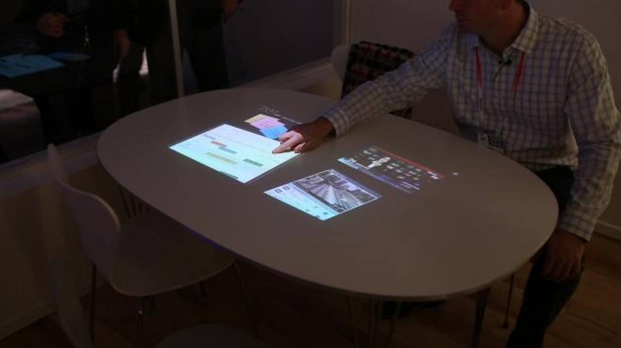 Sony presentó, en la feria alemana el Life Space UX, un concepto nuevo que utiliza el propio espacio para generar experiencias. fotos/agencias