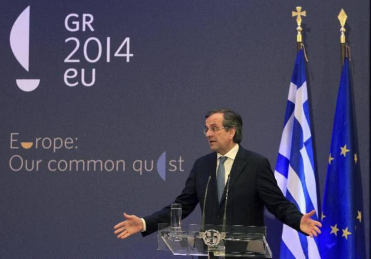 Antonis Samaras, primer ministro de Grecia.