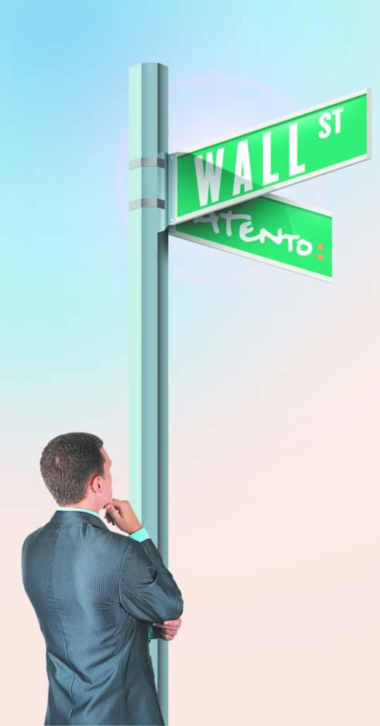 Atento deja el ombligo y se muda a Wall Street