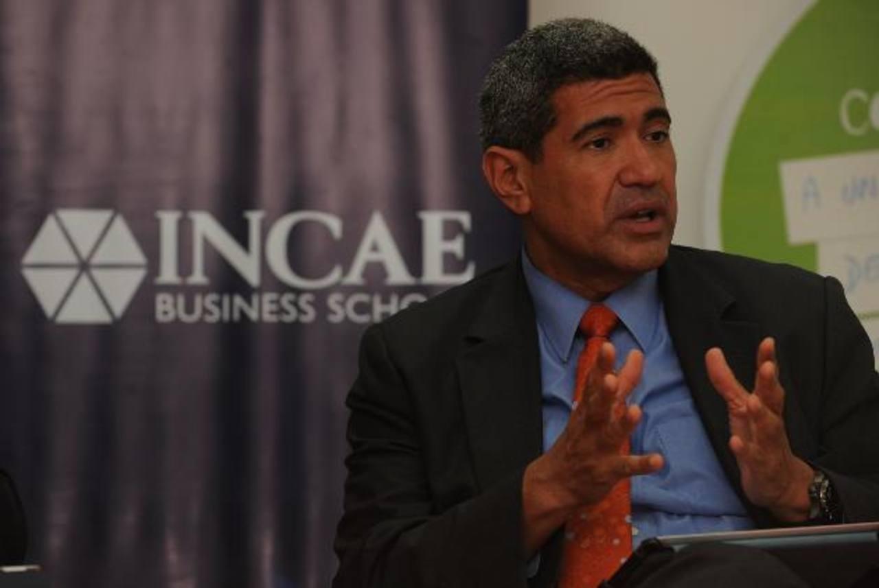 Arturo Condo, rector del Incae Business School, informó que más del 80 % de los estudiantes reciben becas parciales para obtener sus maestrías. Foto Cortesía