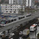 La Línea 1 del Metro de Panamá funciona con regularidad desde la semana pasada. El viaje cuesta $0.35.