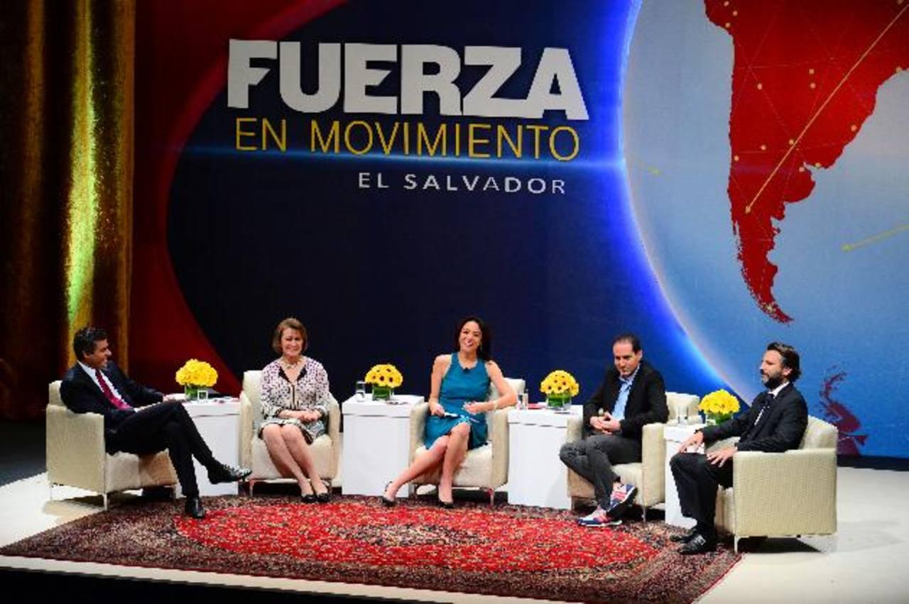 El programa de CNN fue grabado en un foro especial realizado en el auditorium de Fepade, abordando parte de las estrategias de los empresarios nacionales. foto edh / archivo