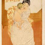 La maternidad fue uno de los temas más explorados por la pintora estadounidense Mary Cassatt.