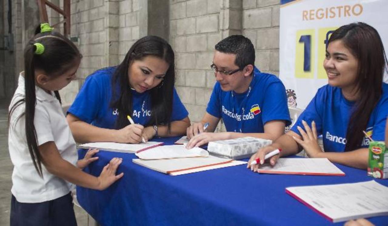 Más de 140 mil niños han sido beneficiados por el programa en sus 10 años de funcionamiento. foto edh / Cortesía