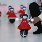 Demostración de los nuevos robots desarrollados por Murata, en Japón. foto edh