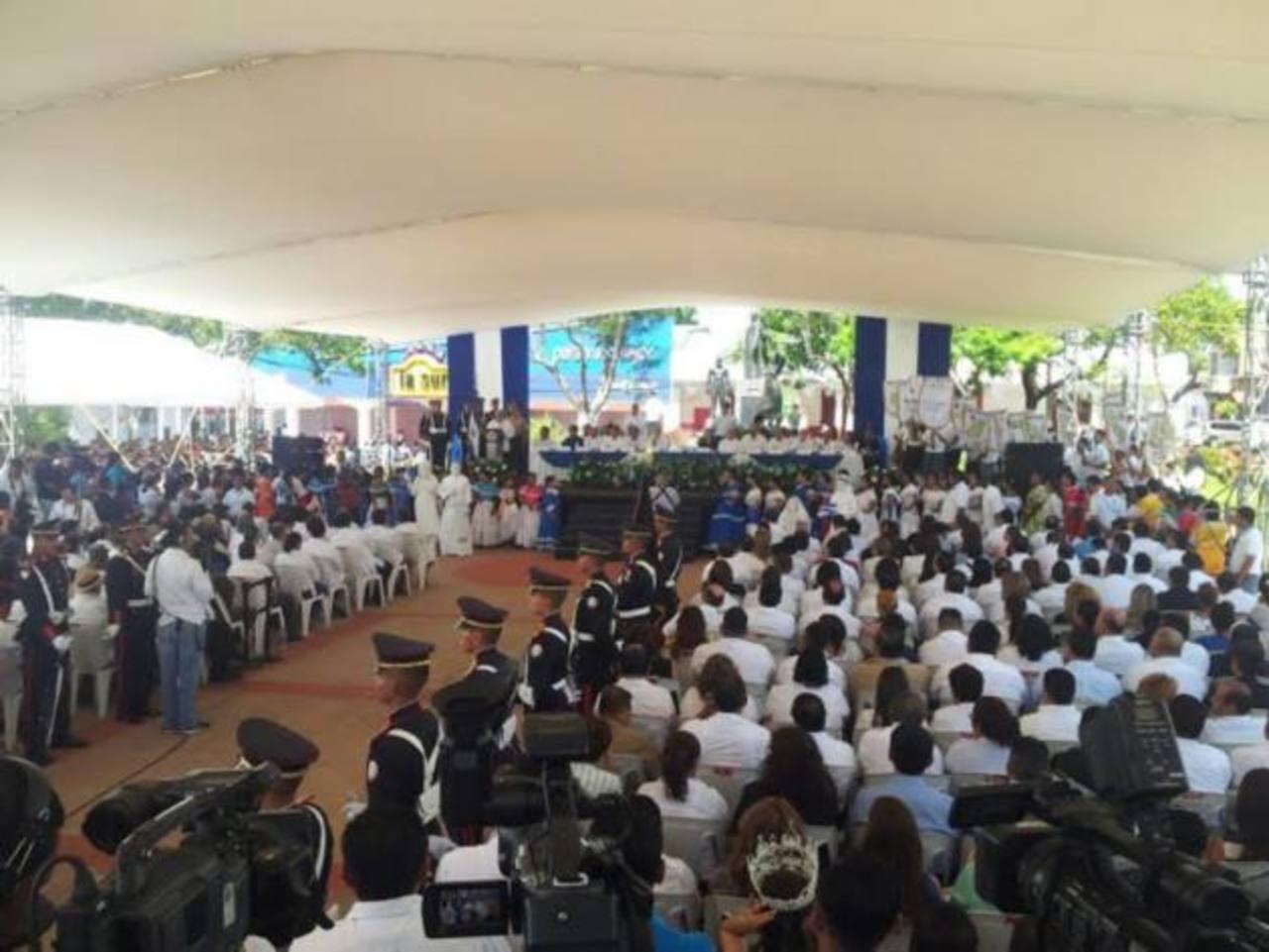 Inauguran el mes cívico en Zacatecoluca