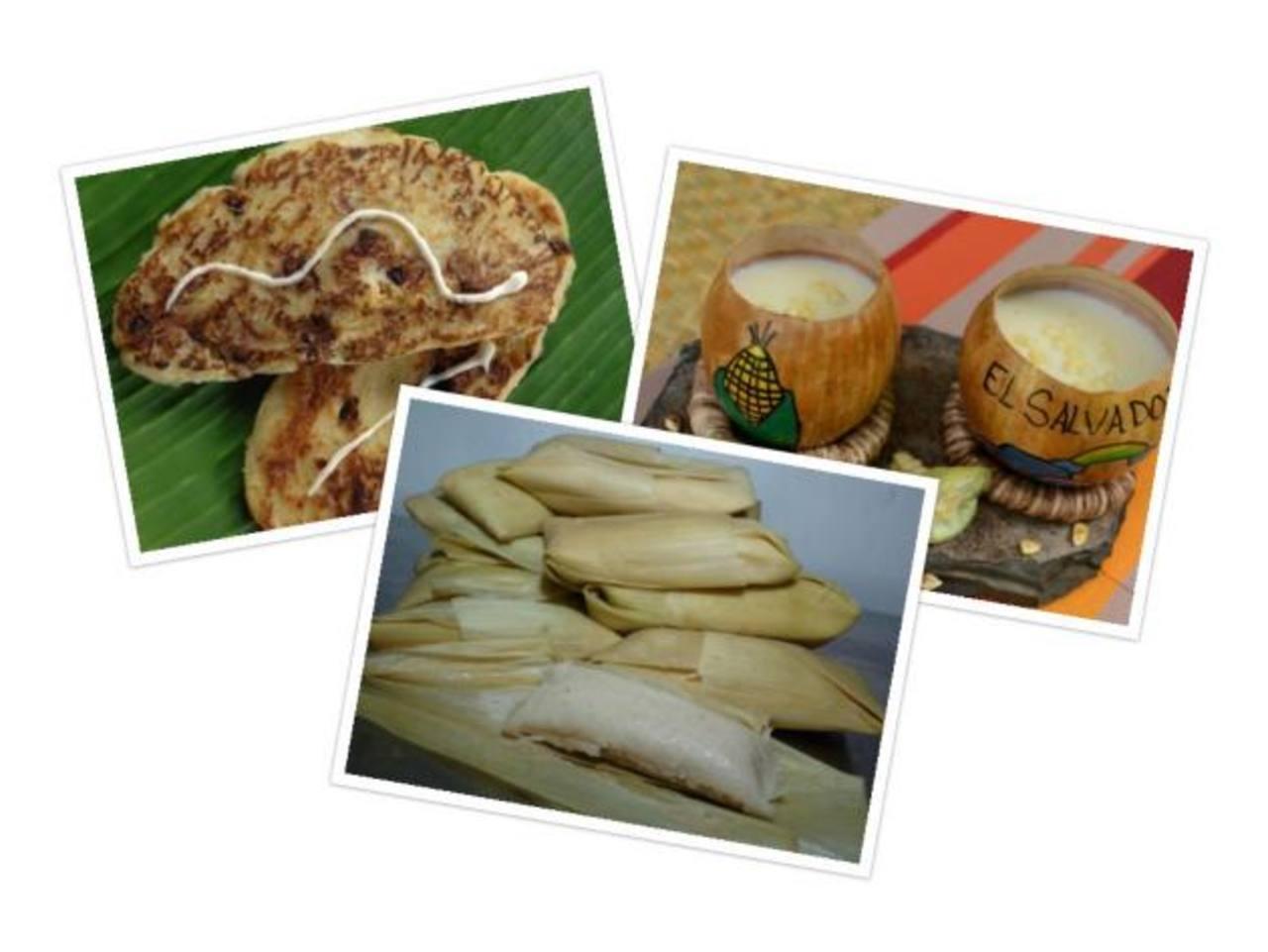 6 antojitos salvadoreños hechos a base de maíz
