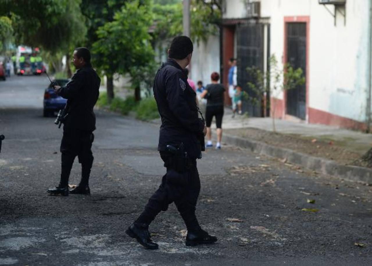 Las autoridades de Seguridad lanzaron el modelo de Policía Comunitaria , el pasado 11 de agosto, en la colonia Costa Rica. Foto EDH/ Archivo.