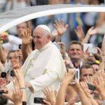 El papa Francisco en su visita a Albania.