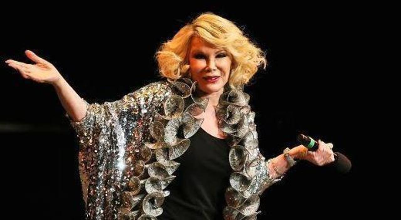 Muere Joan Rivers, comediante estadounidense