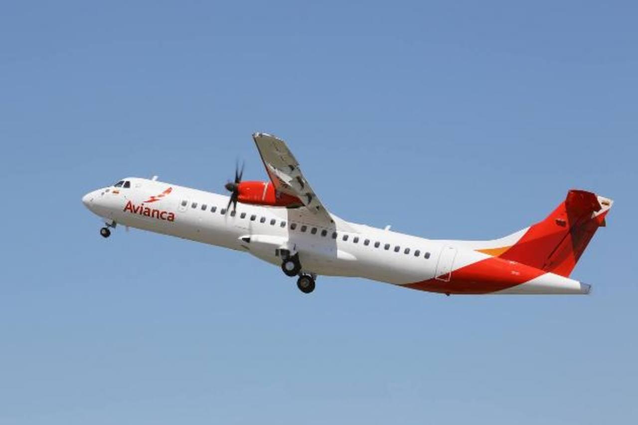 El avión tiene capacidad para 68 pasajeros y volará entre Tegucigalpa, San Pedro Sula y La Ceiba. foto edh