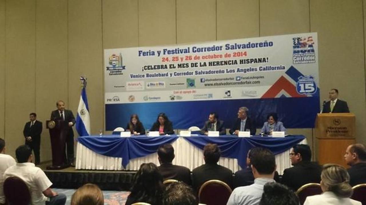 Feria y festival Corredor Salvadoreño en Los Ángeles será en octubre