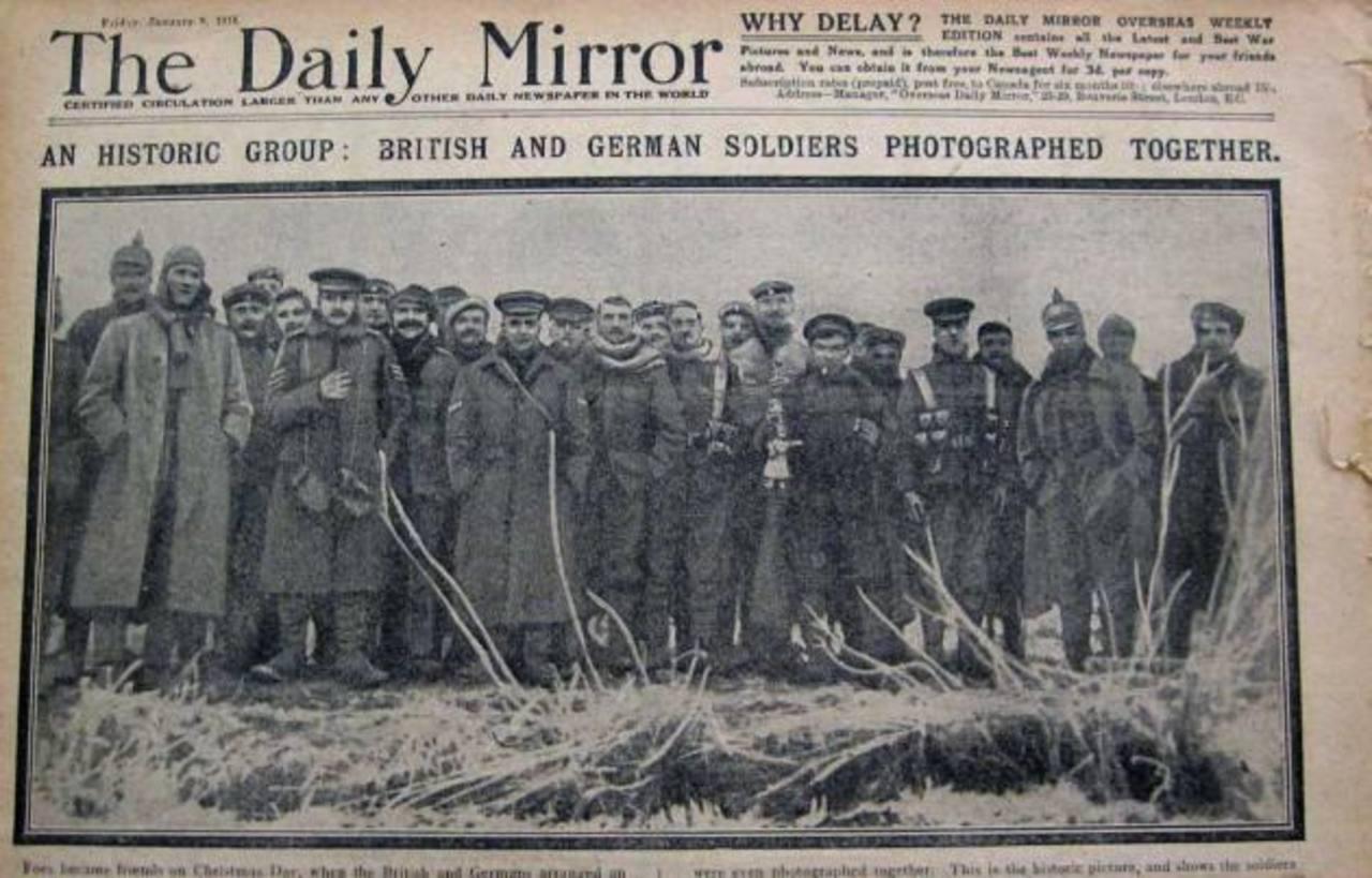 El poder mediático en la Gran Guerra