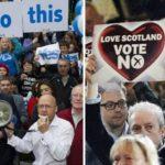 Futuro del Reino Unido está en manos de los indecisos