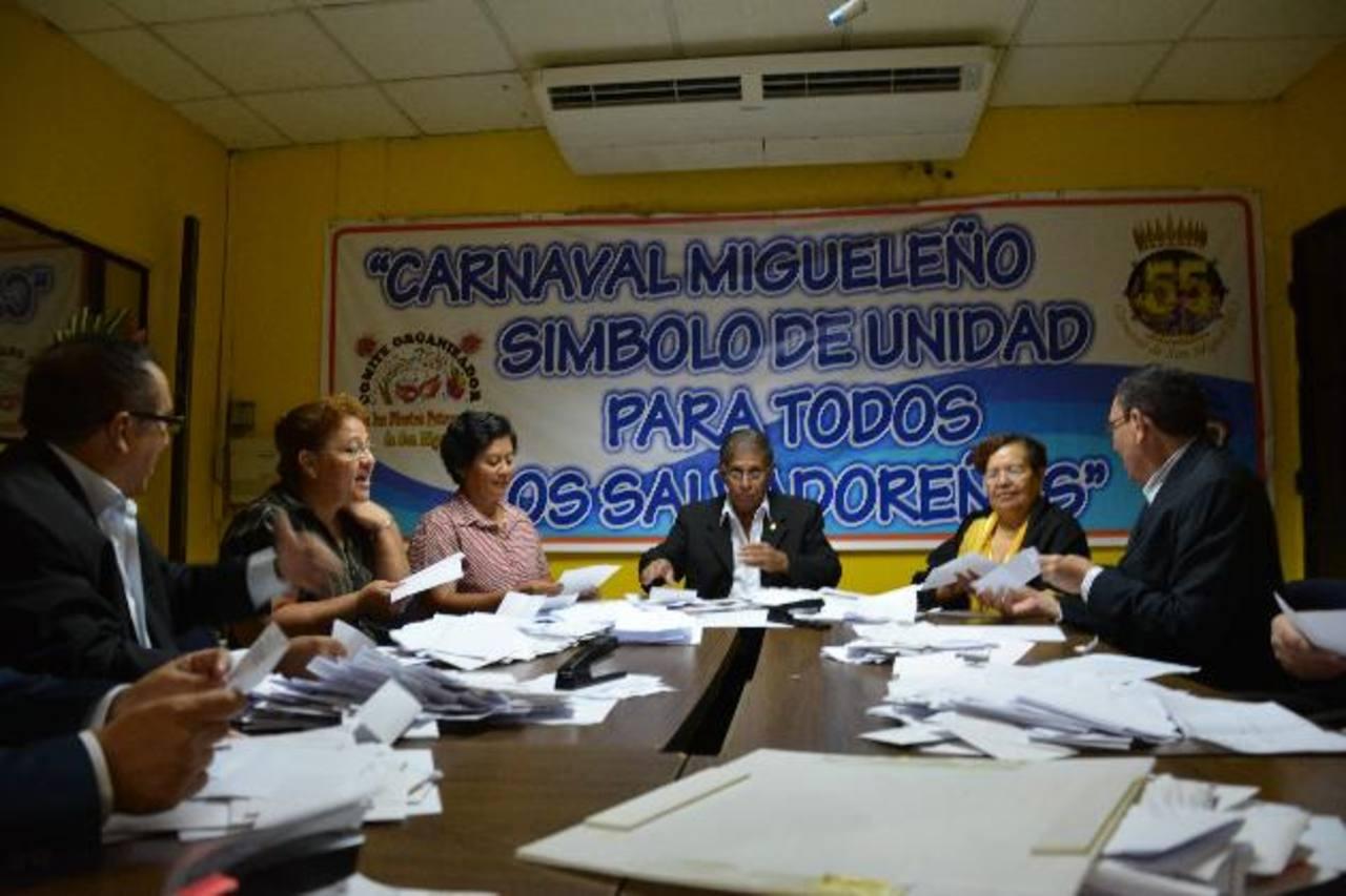 Organizadores dieron a conocer nombre del carnaval migueleño ayer. Fotos EDH / Carlos Segovia