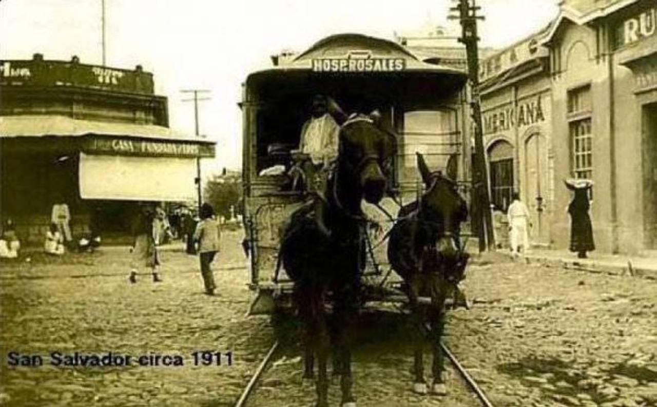 5 formas de transporte del siglo pasado en El Salvador