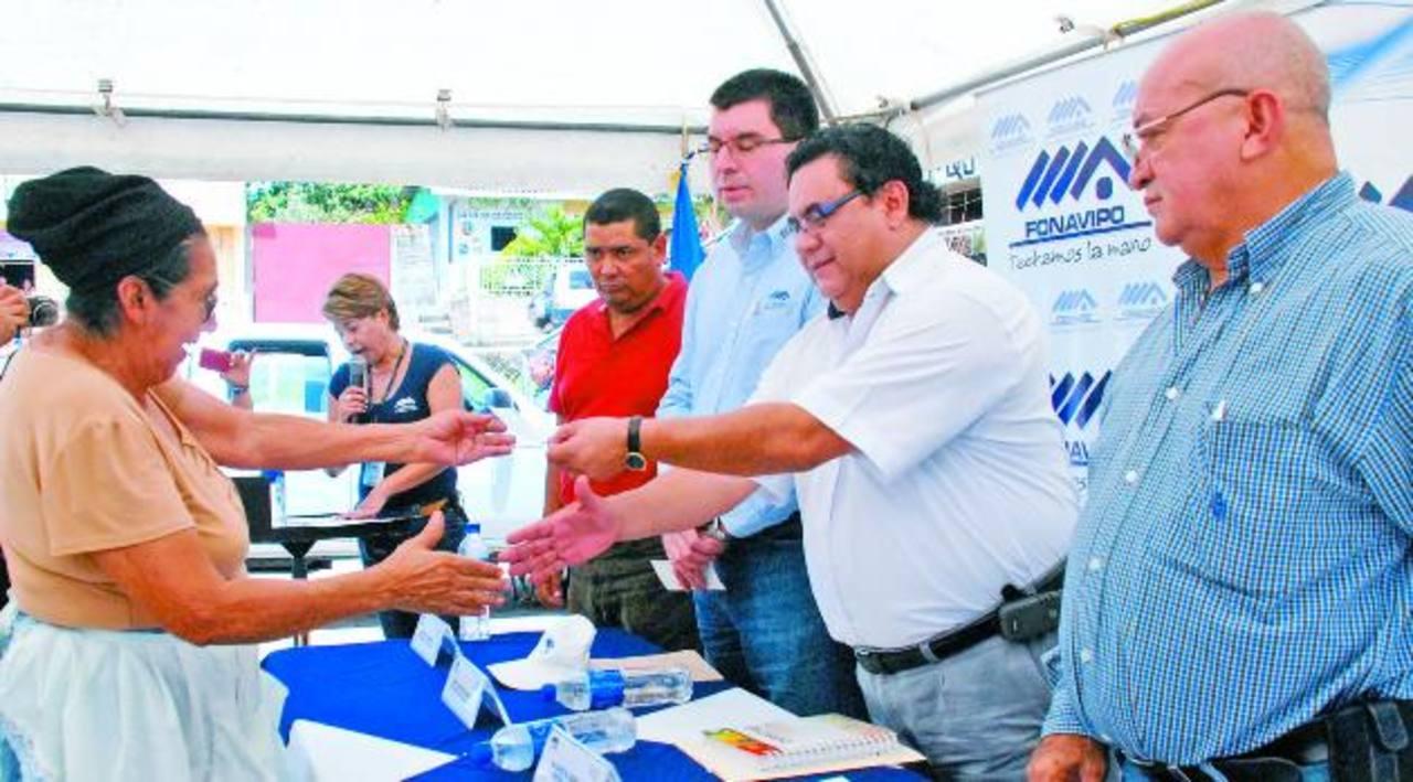 Beneficio de subsidio a familias del volcán se redujo el mes pasado con la suspensión a 23 familias. Foto edh / lucinda quintanilla