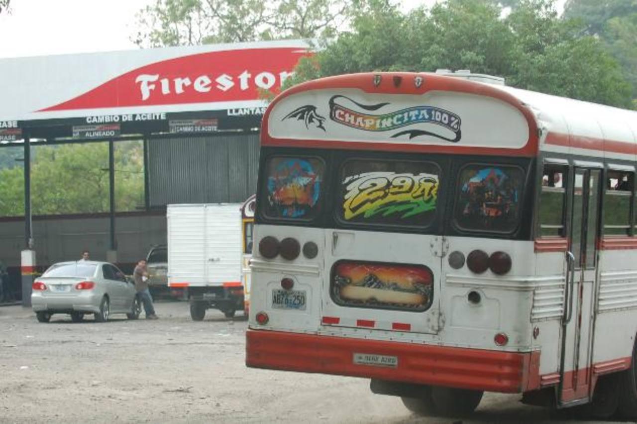 La ruta 29-A buses se encuentra en paro de labores.