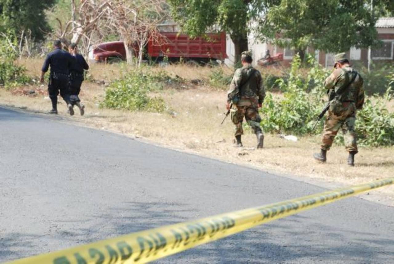 Asesinan a cabo de la Fuerza Armada en San Miguel