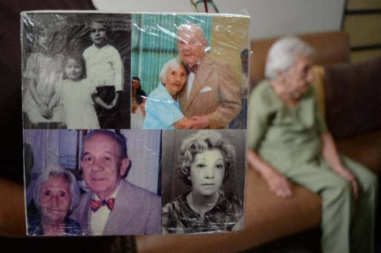 Fotos del recuerdo de Doña Mercedes.