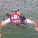 Socorristas realizaban labores de búsqueda en el sector del lago de Ilopango.