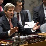 La reunión fue organizada por el secretario de Estado estadounidense, John Kerry. foto edh / ap