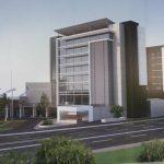 Autoridades anunciaron la construcción de nuevo hotel en el centro comercial Las Cascadas.