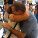 El padre Toño llega a España