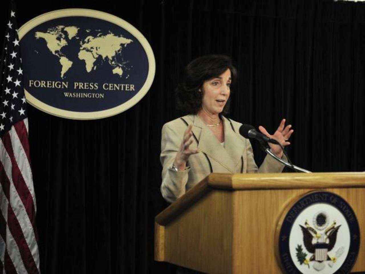 La secretaria de Estado adjunta de EE. UU. para Latinoamérica, Roberta Jacobson, lanzó la petición durante una conferencia en el marco de la Asamblea de la ONU. Foto EDH / archivo