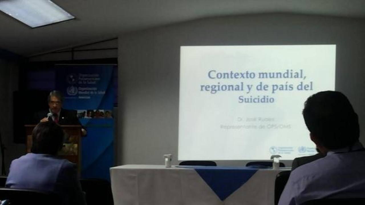 El 71 % de los suicidios se registran en hombres en El Salvador