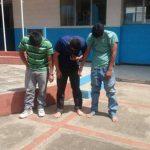 Estos son los sospechosos capturados, todos son originarios de San Salvador.