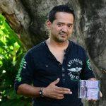 """Francisco Miranda se encuentra promocionando """"La distancia"""" y """"El error más grande de mi vida"""". foto edh / Ericka Chávez"""