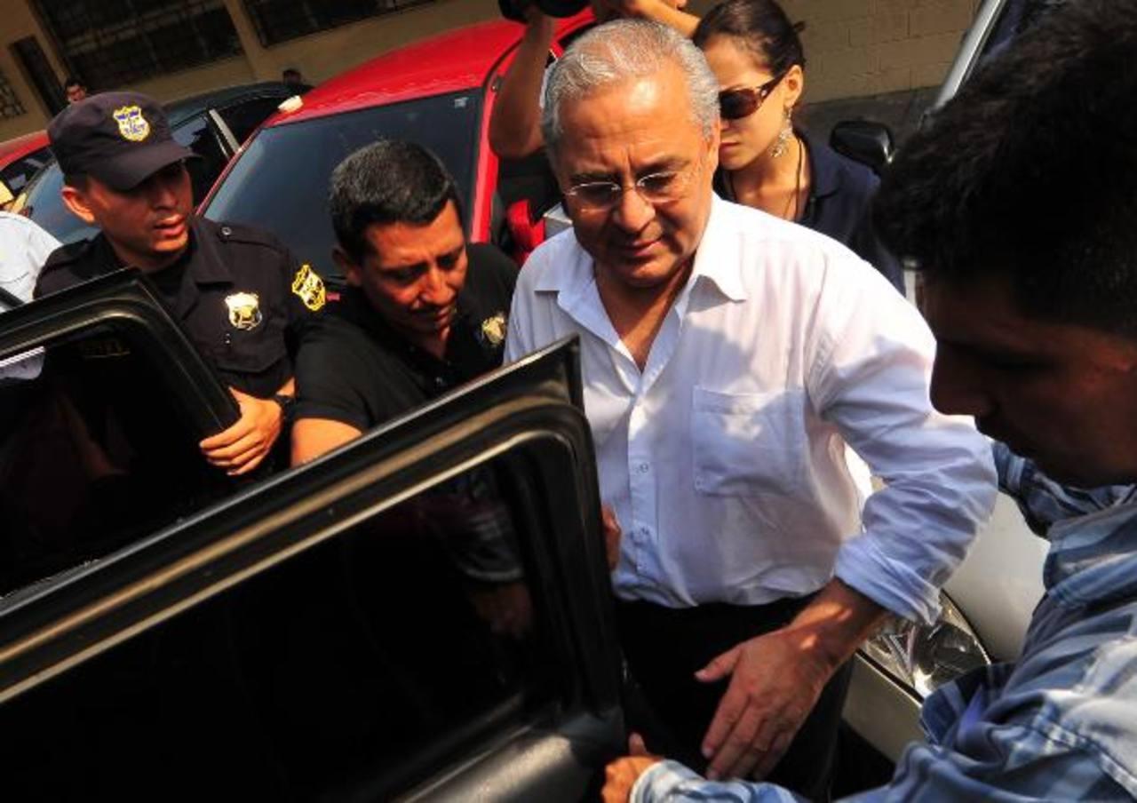 La resolución del caso contra el exministro de salud Guillermo Maza será el próximo martes 16 de septiembre. foto edh