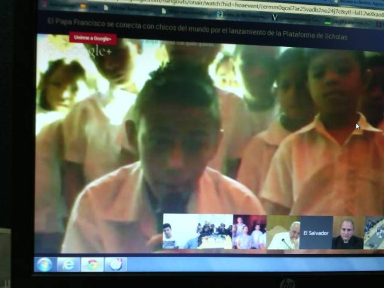 La conversación se dio en el lanzamiento de la plataforma de Scholas.