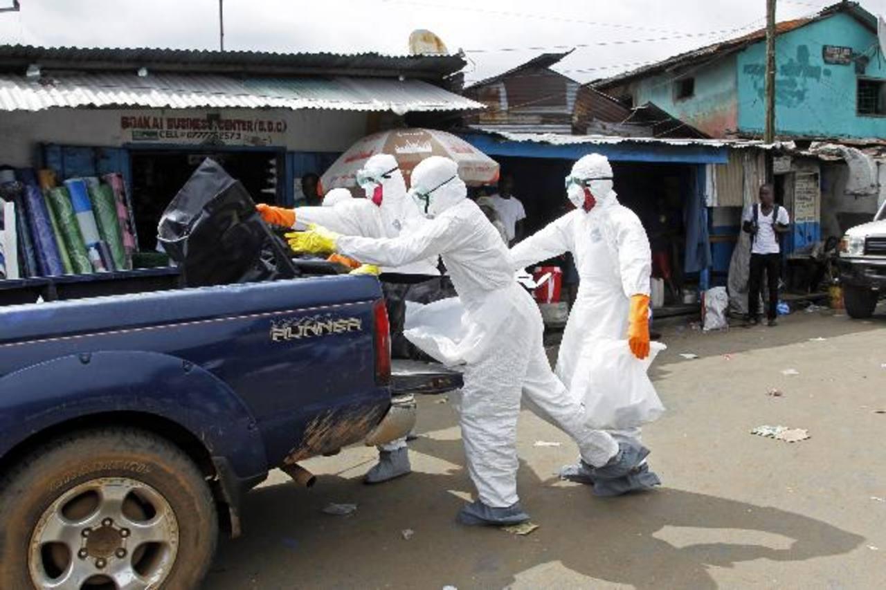 OMS: 2,622 muertos por epidemia de ébola en África Occidental