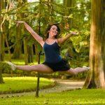 """foto edh / Lili Quant no solo es una chica """"aguerrida"""" para el programa. El ballet es una de sus pasiones"""