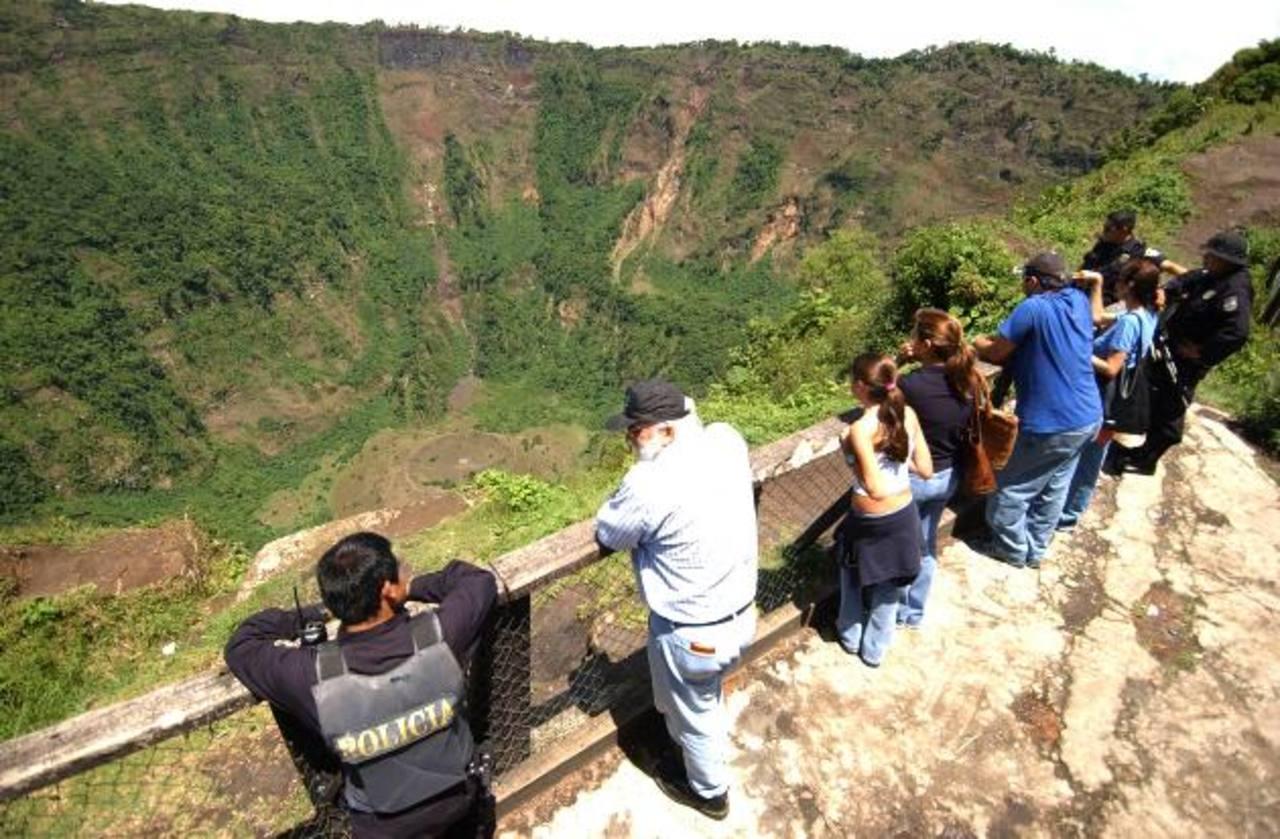 El Boquerón es uno de los atractivos del país. foto edh