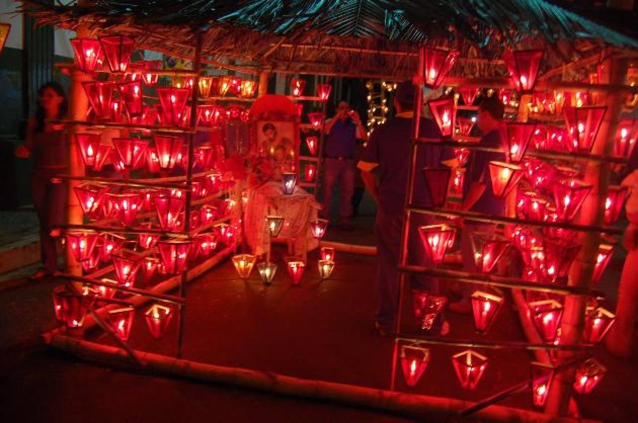 Ahuachapán está listo para celebrar el Día de los Farolitos