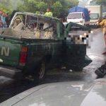 Un muerto y dos lesionados deja accidente en San Miguel