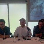 Nadie Rodríguez, Poker y Crak dieron detalles de las actividades de Adapte. Foto EDH/ K.Salazar