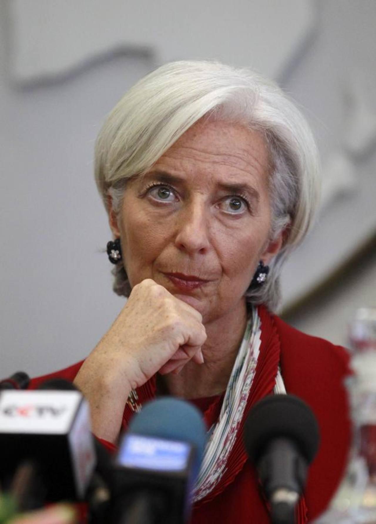 Directora del FMI basó sus declaraciones en una investigación del organismo.