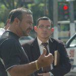 Imagen es del 24 de julio de 2012, antes de ser detenido por atropellar a un policía. Foto EDH /Archivo