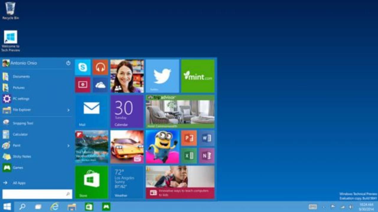 Los usuarios de Windows 8 podrán actualizar sin coste alguno una vez Windows 10