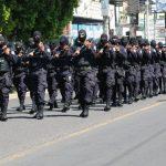 Unidades especiales de la Policía y de la Fuerza Armada participarán en el desfile de Lolotique. foto edh / archivo