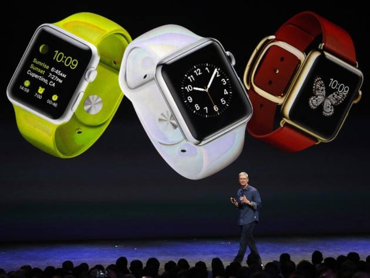 Apple Watch se suma al duelo de los relojes inteligentes