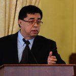 El secretario técnico, Roberto Lorenzana, dio el informe en materia económica. Fotos EDH/ OMAR CARBONERO