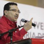 Medardo González mantiene un discurso crítico a los medios. Ayer dijo que dos grandes periódicos enfrentan al Goes. foto edh /