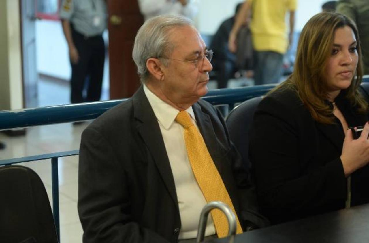 En libertad exministro Maza acusado por caso Rhessa